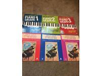 Piano grade 1 2 3 books