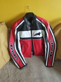 Ladies alpine star bike jacket size 14 /16.as new condition .barely worn