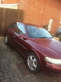 Vauxhall vectra 1.8 unleaded petrol 9 months mot good reliable car in good condition for age