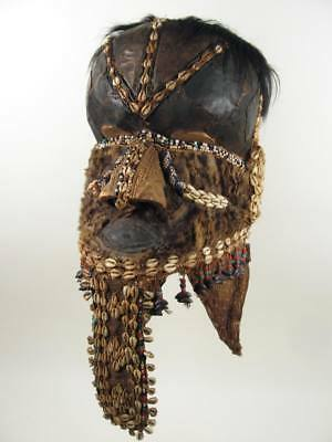 GothamGallery Fine African Art - DRC Kuba Bwoom Royal Tribal Mask