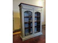 Solid oak bookcase refurbished