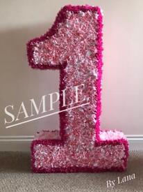 Birthday Number Sign