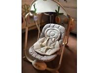 Chicco Polly Baby Swing Up