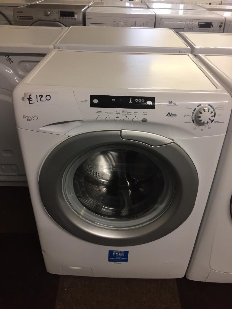 Candy 8kg Load Washing Machinewasher White In Wolverhampton West