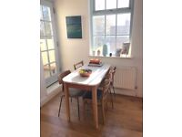 Retro Dining Table - Teak/ Mid-Century / Formica