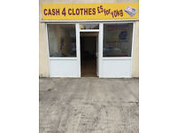 Cash 4 clothes.