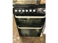 HOTPOINT ULTIMA 60CM DUAL FUEL COOKER EXCELLENT CONDITION