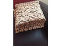 6 Cushions with ikea throw