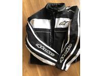 Alpine stars motorbike jacket