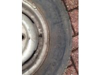 205/80/R16 104T. Four commercial tyres for sale ideal