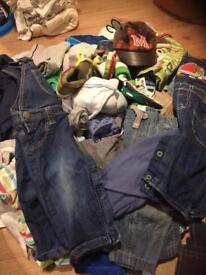Huge bundle of boys clothes 0-9 months