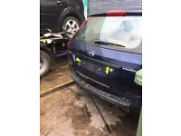 FORD FIESTA MK6 TAILGATE / BOOT IN BLUE 2002 - 2007 USED
