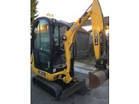 0.8t-1.5 ton mini Diggers & driver hire- all groundwork, footings,muckaway & grab lorrys,dumpers