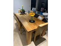 Quality large kitchen / dining room table for quick sale