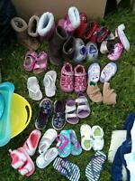kids shoes, girls, assorted sizes