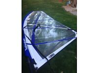 Starboard Rio windsurf board and sail - complete set