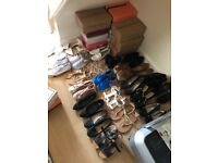All women's shoes £3 each and £1 or £2 sandals