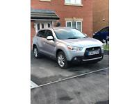 Mitsubishi ASX, Top of the Range. 49k Miles, 50MPG, F.M.S.H. Excellent condition.