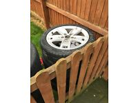 Audi 17 inch alloy wheels