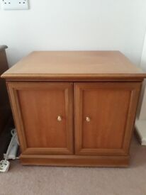 Small teak cupboard