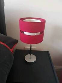2 bed side table lamps