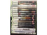Xbox 360 games £5 each