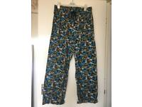 Men's Batman pj trousers large