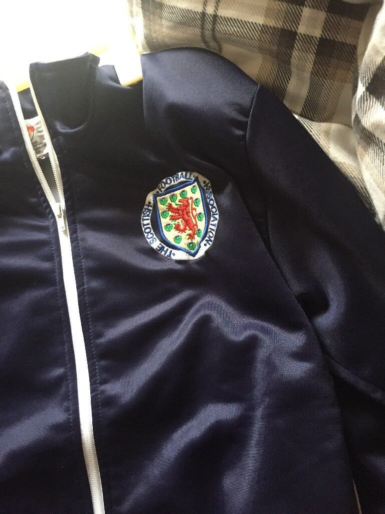 9315ffedadf 1974 toffs Scotland tracksuit top small men s size cost £50 sell for £10 to  clear thanks. Airdrie ...