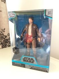 Star Wars Elite Series Die Cast Cassian Andor Figure Brand New