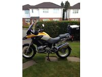 BMW r1200gs gs1200 '57 plate 23k