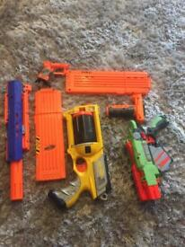 Need guns and parts