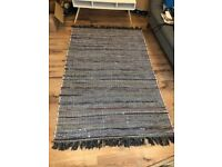 Mint Condition John Lewis & Partners Recycled Cotton Chindi Rug