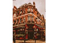 Flexible Kitchen Porter/Commis Chef needed in busy pub in Covent Garden, London