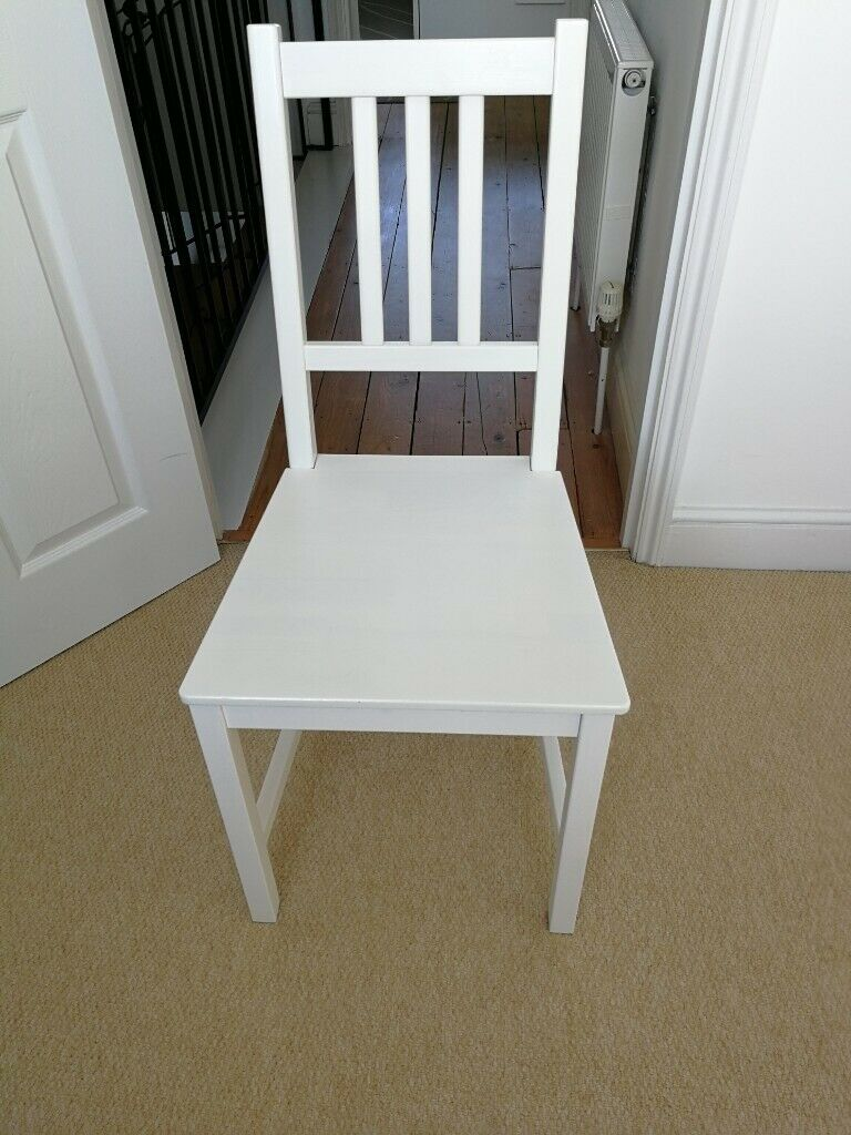 Chair Ikea Stefan White In Cambridge Cambridgeshire