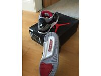 Nike Air Jordan 3 lll Retro OG Black Cement Grey UK 7.5
