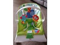 Bouncy chair.