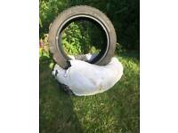 2 new optimo car tyres for sale