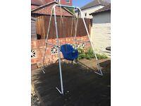 high back toddler swing for sale