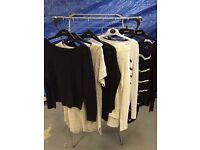 Ladies jumpers bundle x 7 size 12 variety of styles