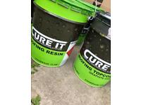 Cure It Roofing Resin & Topcoat (graphite grey)