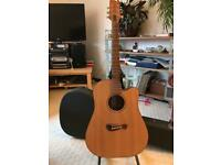Tacoma Dreadnought DM9C Cutaway Electro Acoustic Guitar