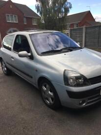 Renault Clio 1.2 16v dynamique 2002 now sold