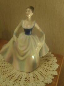 Royal doulton collectible figurine