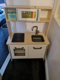 Ikea childrens kitchen with bits