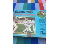 Subbuteo Test Match Edition. Offers considered.