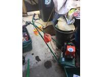 Qualcast petrol mower