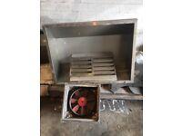 Industrial extractor hood