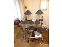 Yamaha DTXplorer Electronic Drum Kit with Stool, Sticks, Instructions – Excellent Condition