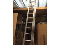 9m 3 section extension Ladder