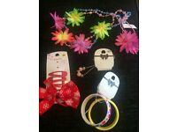Girls hair accessories and jewellery bundles